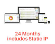 Monitoring 24 months and static IP
