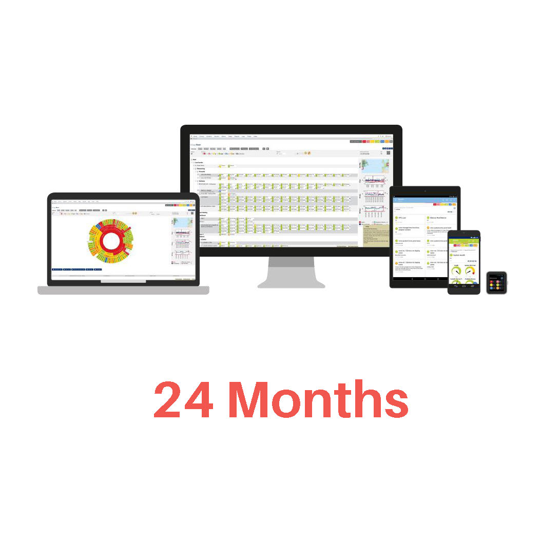 Monitoring 24 months